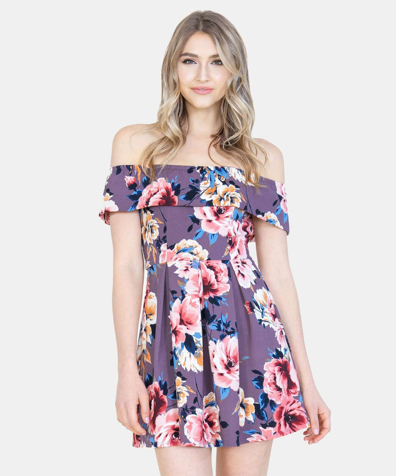 Maude Off The Shoulder Dress-Speechless