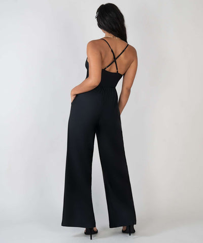 Stevie Jumpsuit-Jumpsuit-XX SMALL-Black-Speechless