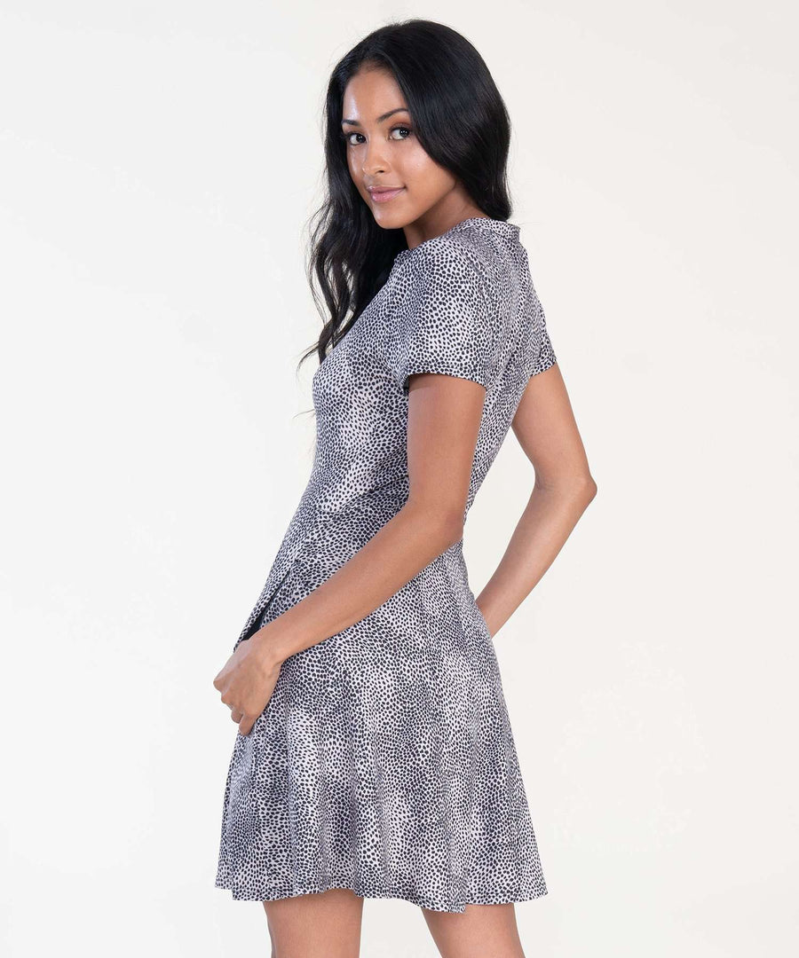Courtney Button Front Dress-Casual Dresses-Speechless