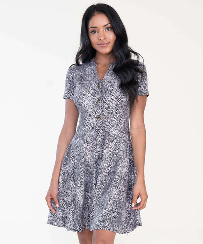 Courtney Button Front Dress