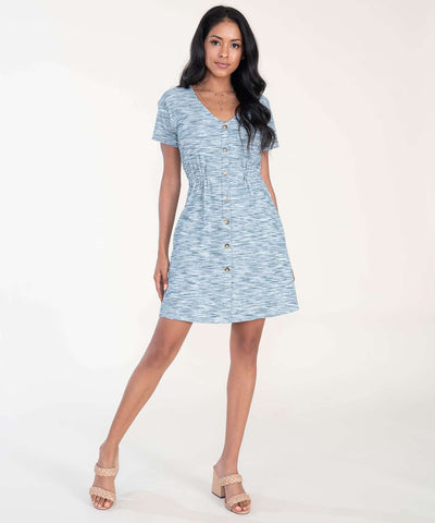 Sparrow Button Front Dress