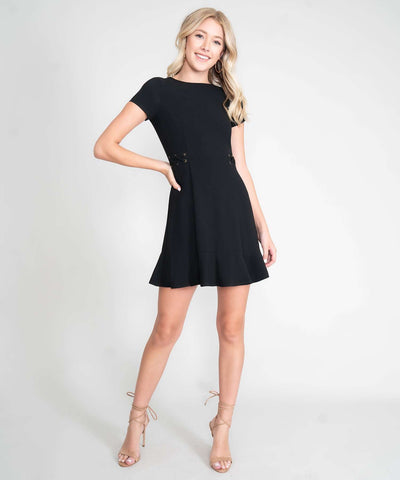 Tina Lace Up Dress - Image 2