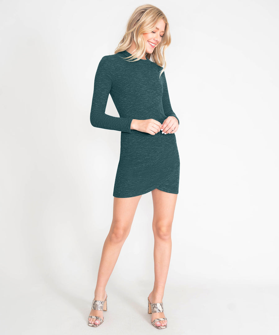 Alyssa Long Sleeve Knit Dress-New-Speechless