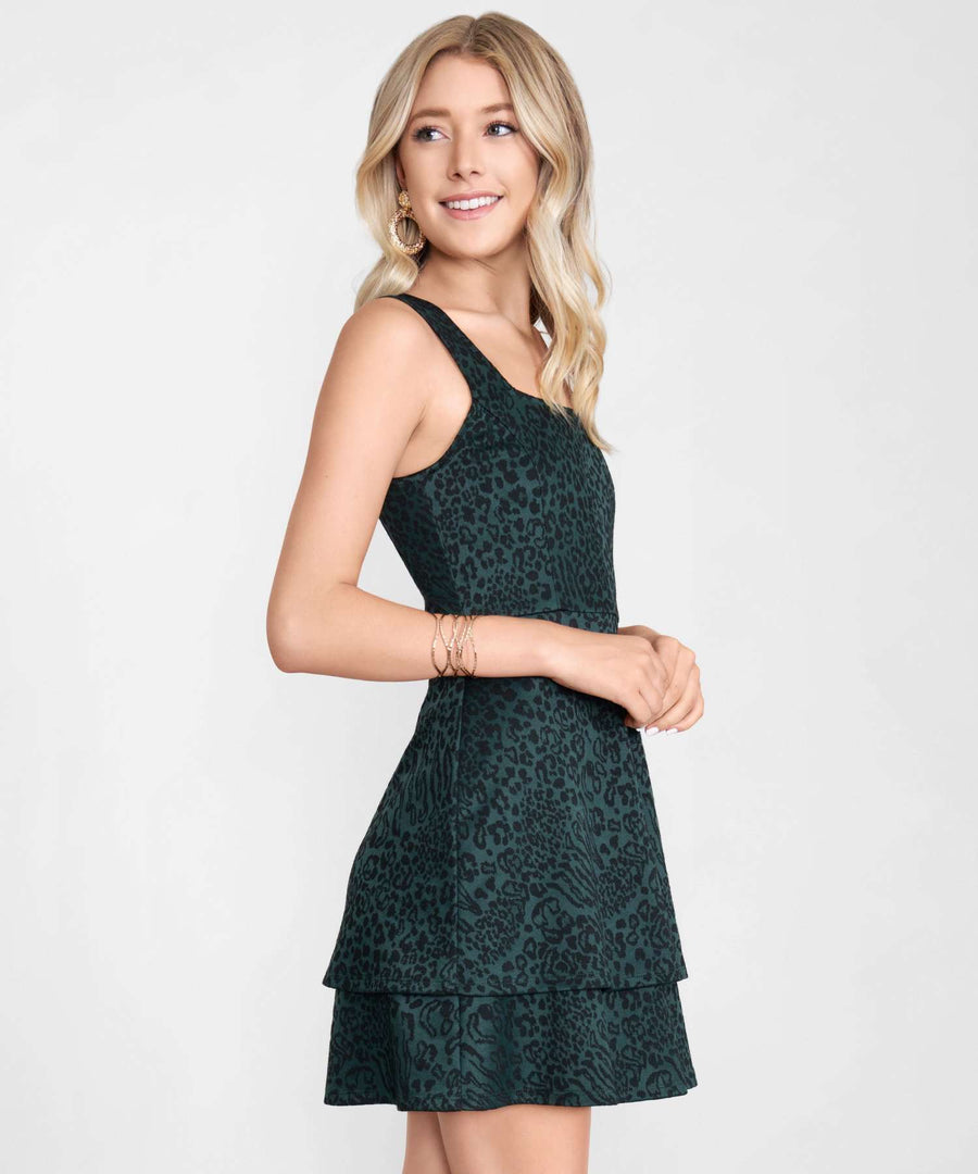 Coco Double Layer Dress-Dressy Dresses-Speechless