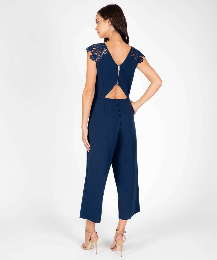 Fluttering Hearts Lace Jumpsuit-New-Speechless.com