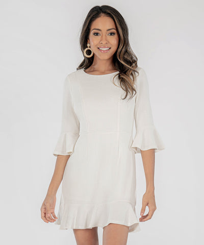 Sweet Sophistication Bell Sleeve Dress