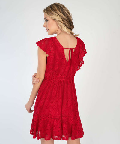 Right Time For Ruffles Dress - Image 2