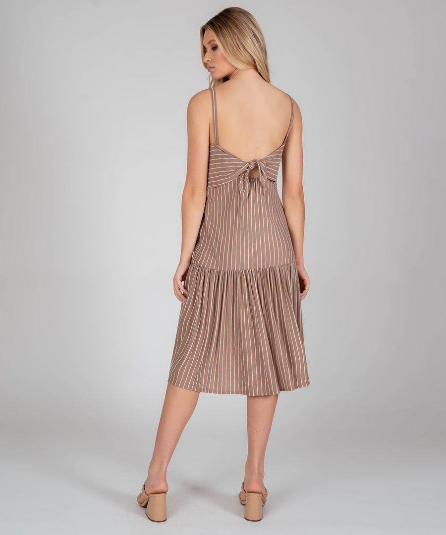 Paloma Tier Midi Dress-Casual Dresses-Speechless.com