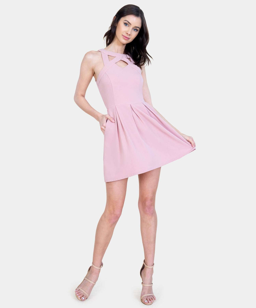 Call Me Maybe Skater Dress-Casual Dresses-Speechless