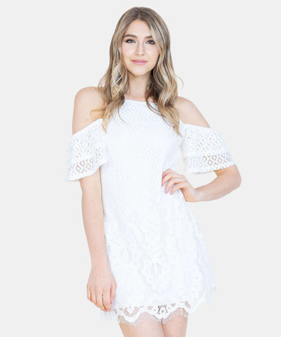 Midnight Dreamer Lace Dress