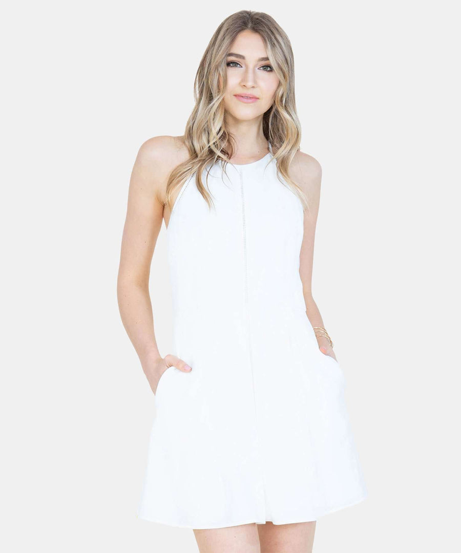 Sure Thing Skater Dress-Dressy Dresses-Speechless