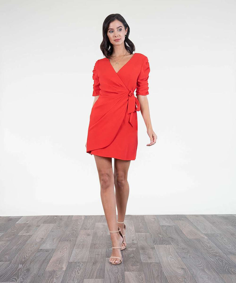 Rio Wrap Dress-Speechless