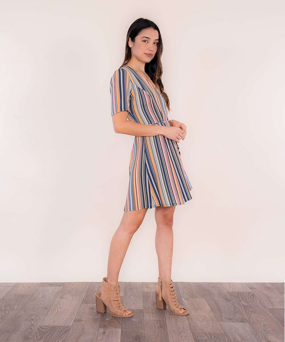 Jordy Wrap Dress-Speechless