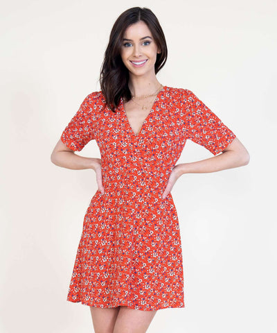 Kate Surplice Dress