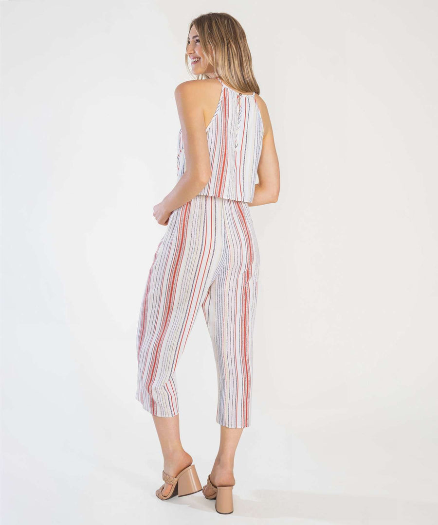 Bri Knot Front Jumpsuit-Jumpsuit-Speechless