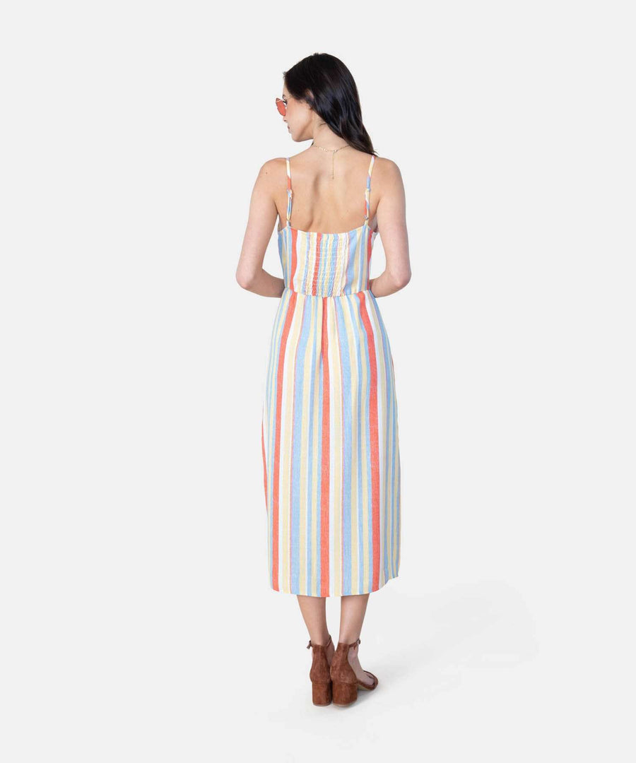 Meet Me In The Middle Midi Dress-Casual Dresses-Speechless