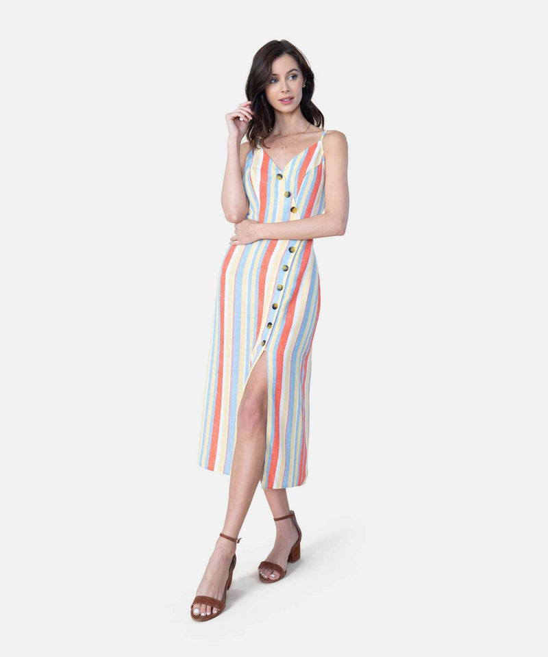 Meet Me In The Middle Midi Dress-Speechless