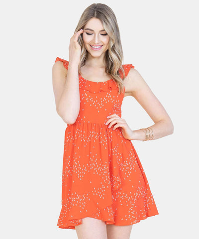 Cute As A Button Skater Dress