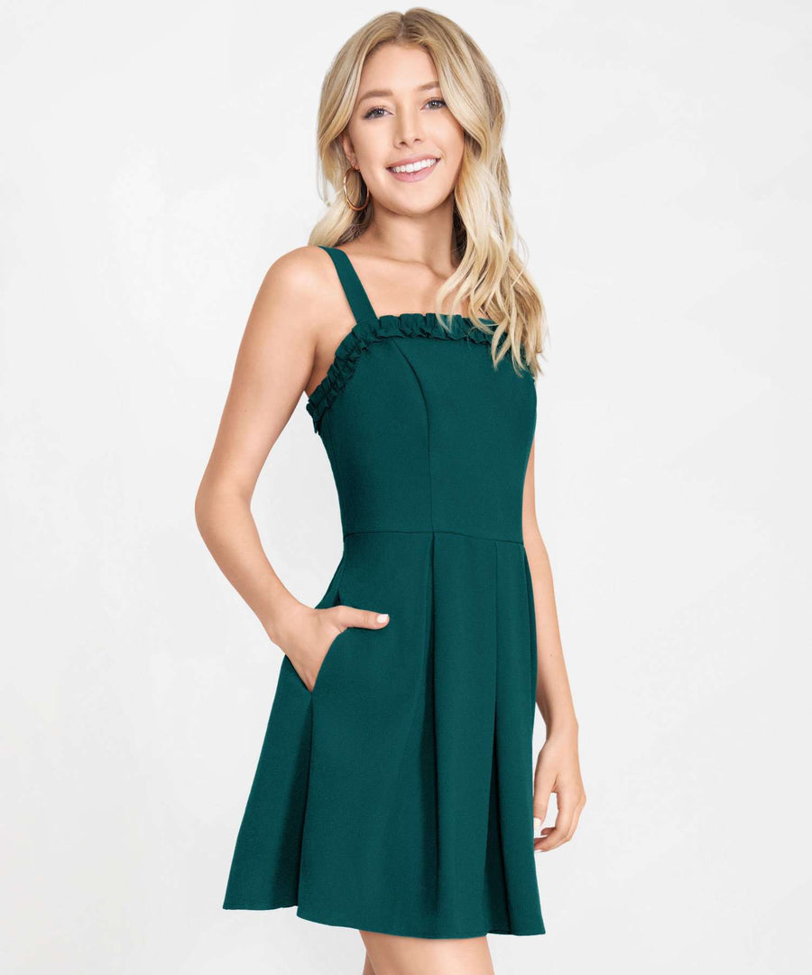 Sweet Escape Bow Back Dress-Casual Dresses-Speechless