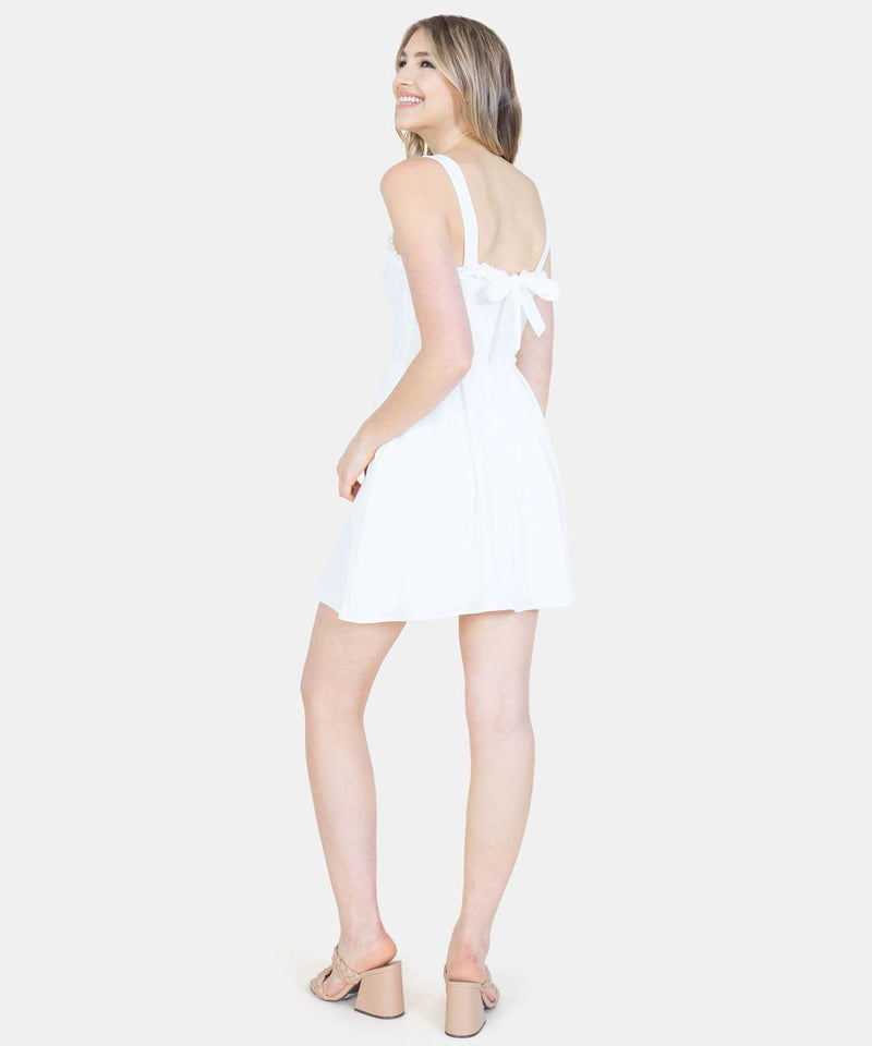 Sweet Escape Bow Back Dress-Speechless