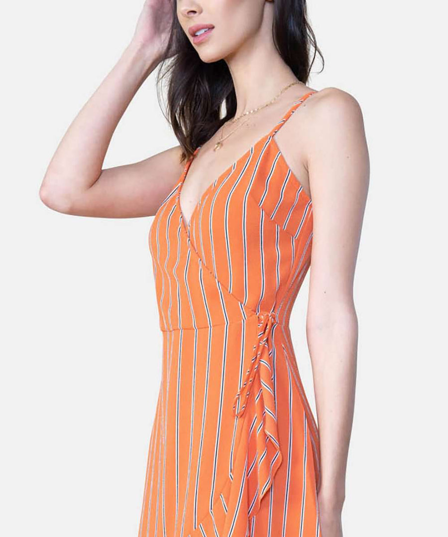 Jamie Exclusive Wrap Dress-Casual Dresses-Speechless