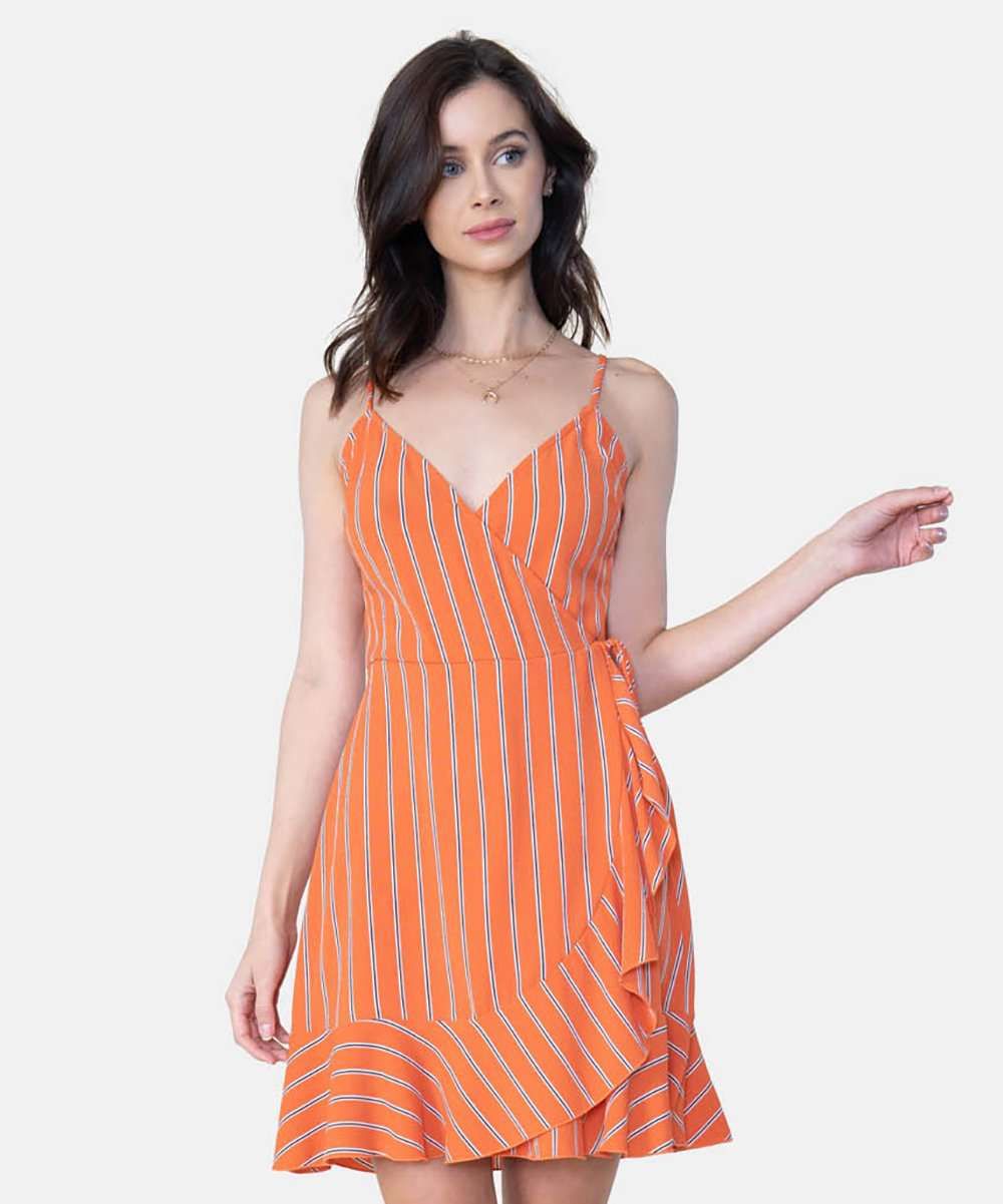 Jamie Exclusive Wrap Dress-Speechless