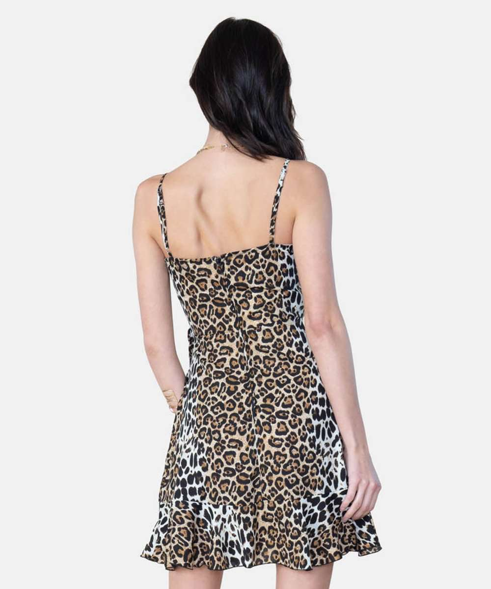 Jamie Exclusive Animal Wrap Dress
