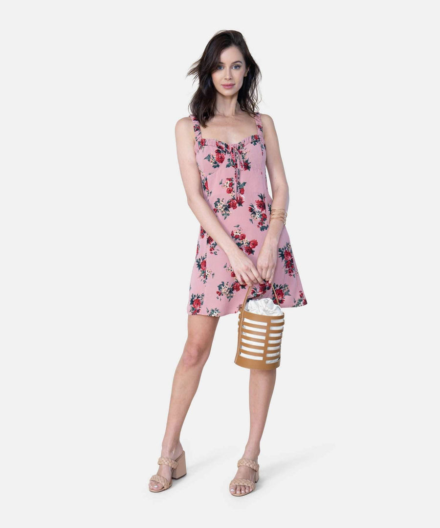 Juliette Exclusive Mini Dress-Casual Dresses-X SMALL-Blush Rose-Speechless