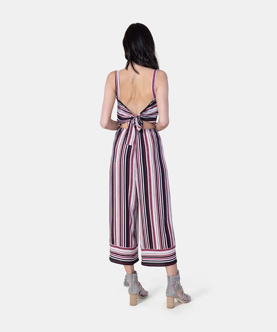 Jacey Exclusive Bow Back Jumpsuit-Speechless