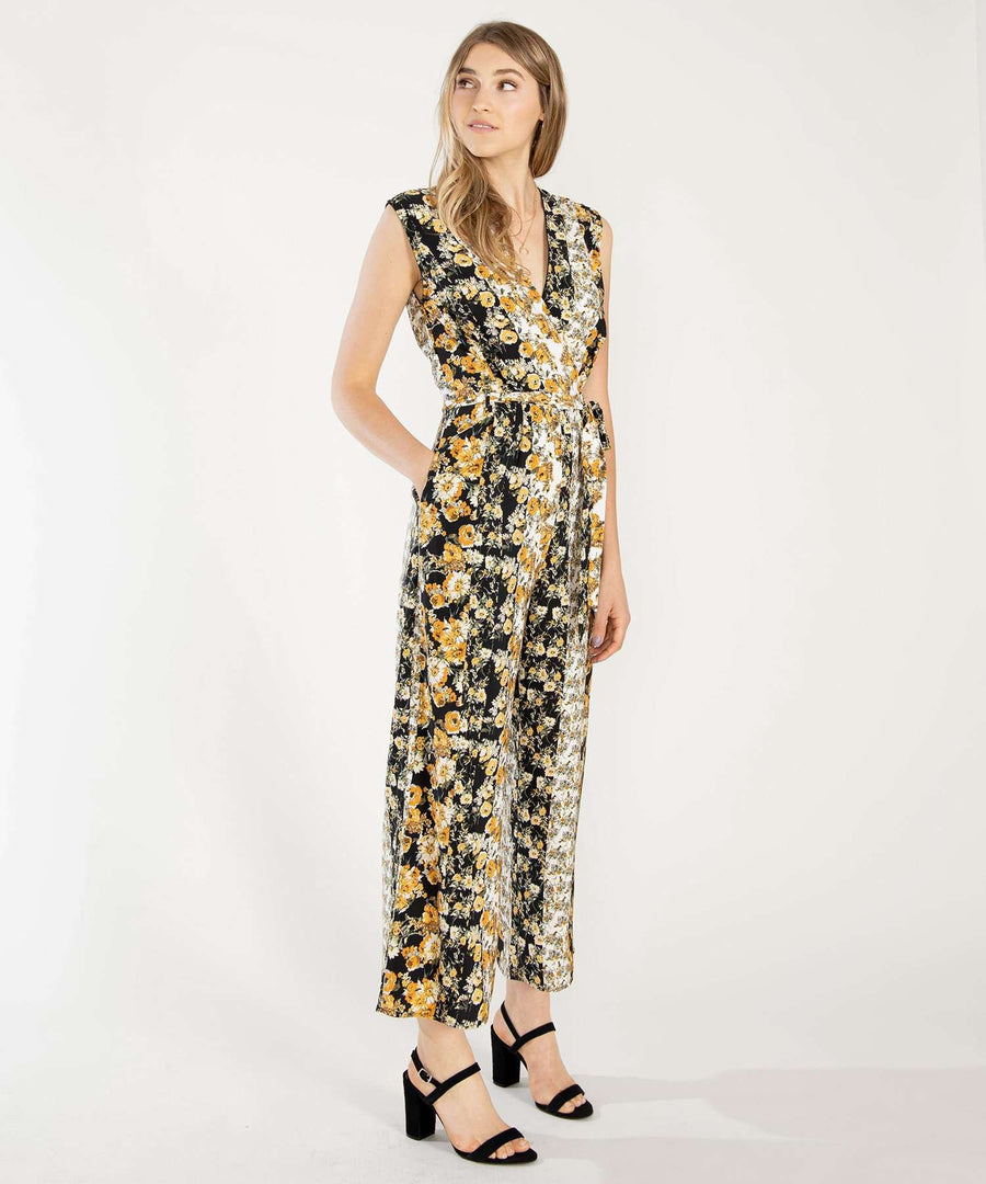 Golden Hour Printed Jumpsuit-Jumpsuit-Speechless