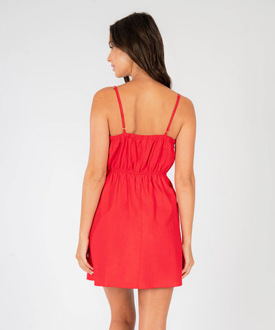 Rosa Knot Front Dress - Image 2