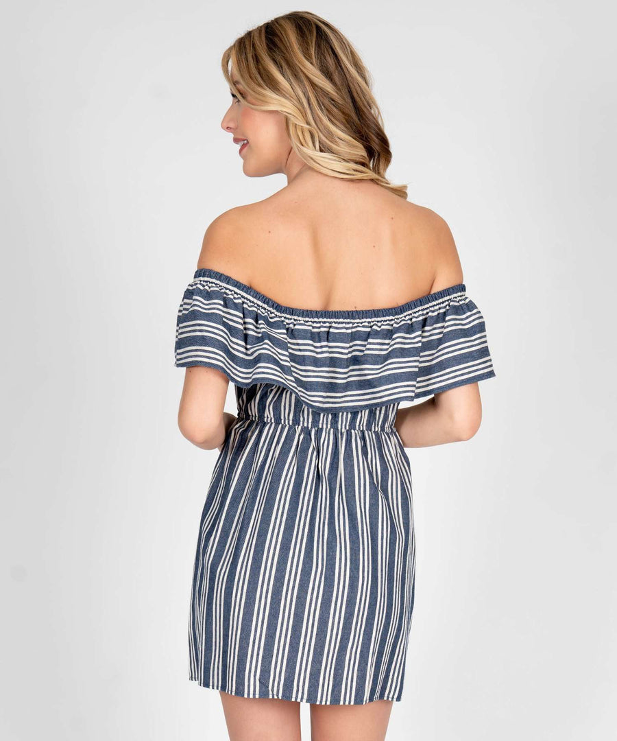 Presley Off The Shoulder Dress-Casual Dresses-Speechless.com