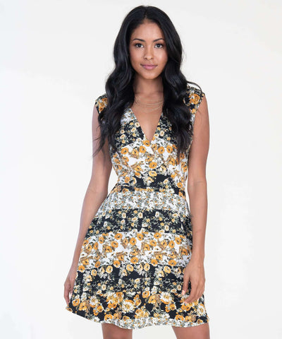 Golden Hour Printed Mini Dress