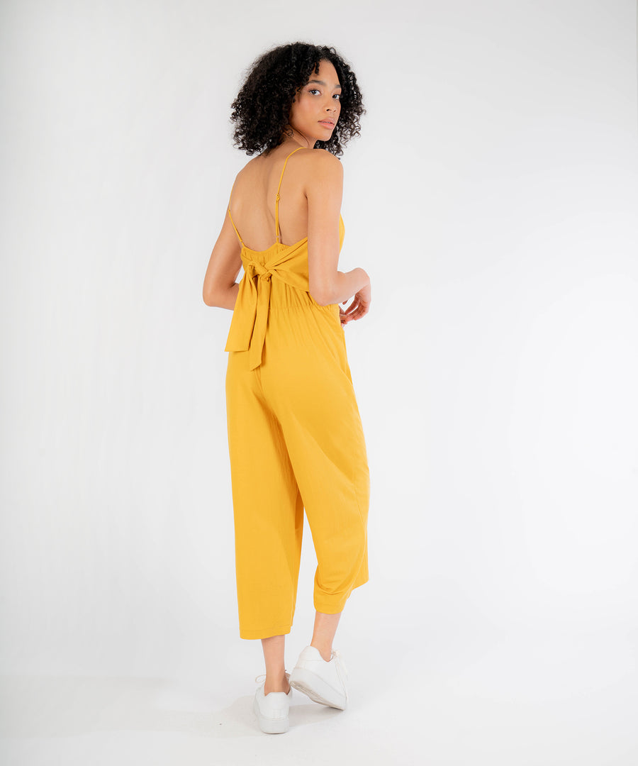 Lizzie Tie Back Jumpsuit-Jumpsuit-Speechless.com