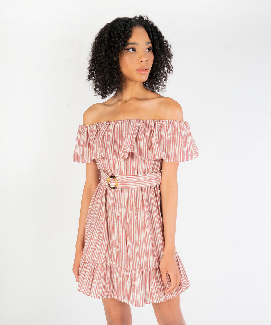 Lucia Off The Shoulder Dress-Speechless.com