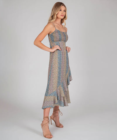 Sierra Ruffle Midi Dress - Image 2