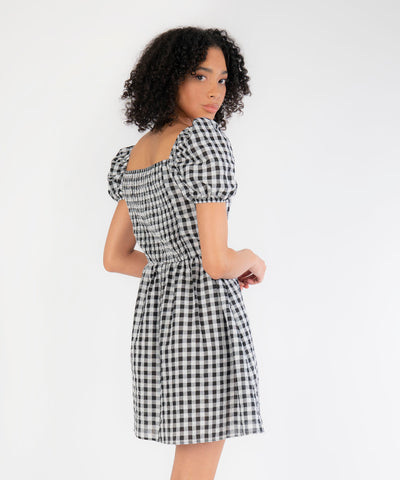 Sami Puff Sleeve Dress - Image 2