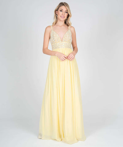 Selena Beaded Ball Gown - Image 2