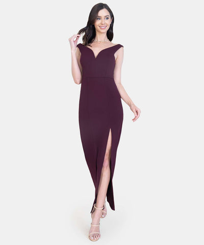 Valerie V Wire Maxi Dress-Formal Dress-Speechless