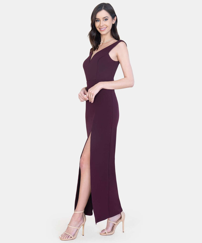 Valerie V Wire Maxi Dress-Speechless