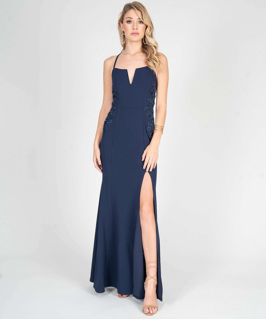 A Rose By Any Other Name Maxi Dress-Prom-0-Midnight-Speechless.com