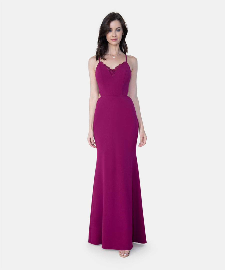 Sweetheart Maxi Dress-Speechless