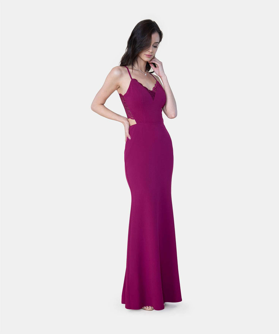 Sweetheart Maxi Dress-Formal Dress-Speechless