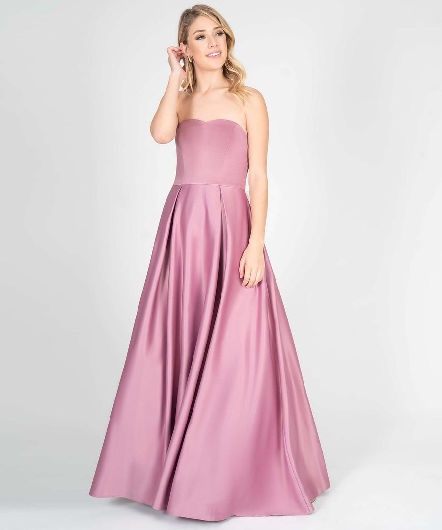 Enchanted Evening Ball Gown-Mauve-Prom Dress-Speechless.com