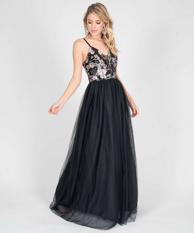 Dove Sequin Ball Gown - Image 2