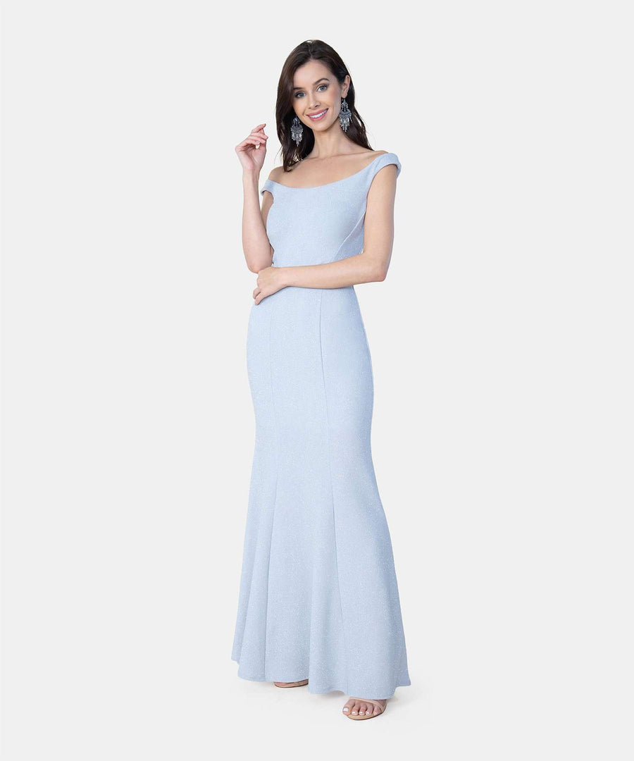Duchess Exclusive Bateau Neck Dress-Speechless