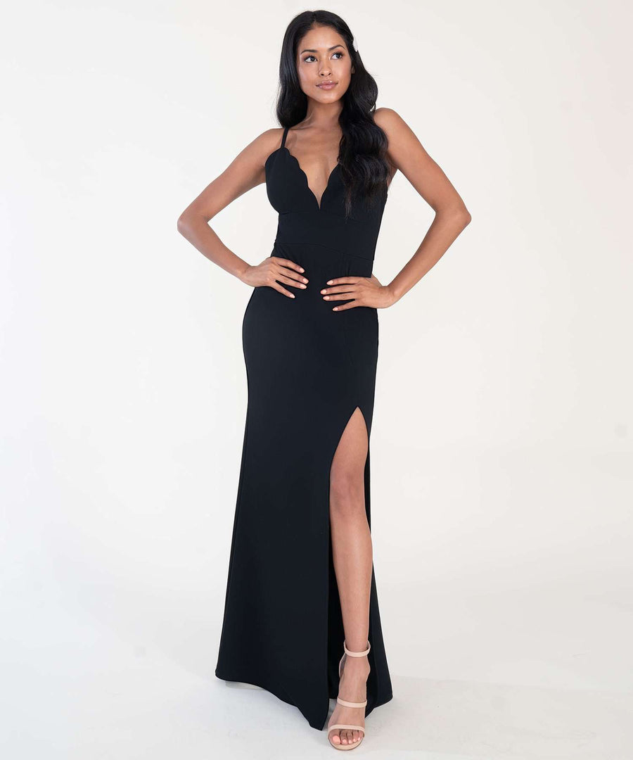 Back To Basics Maxi Dress-Formal Dress-Speechless
