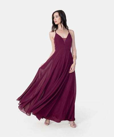 Valerie V Wire Maxi Dress