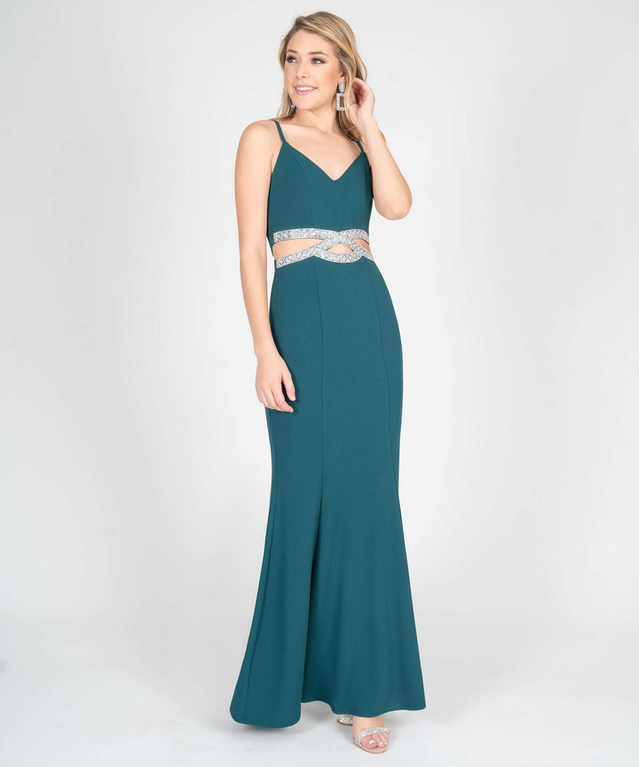 Here For You Infinity Maxi Dress in Evergreen