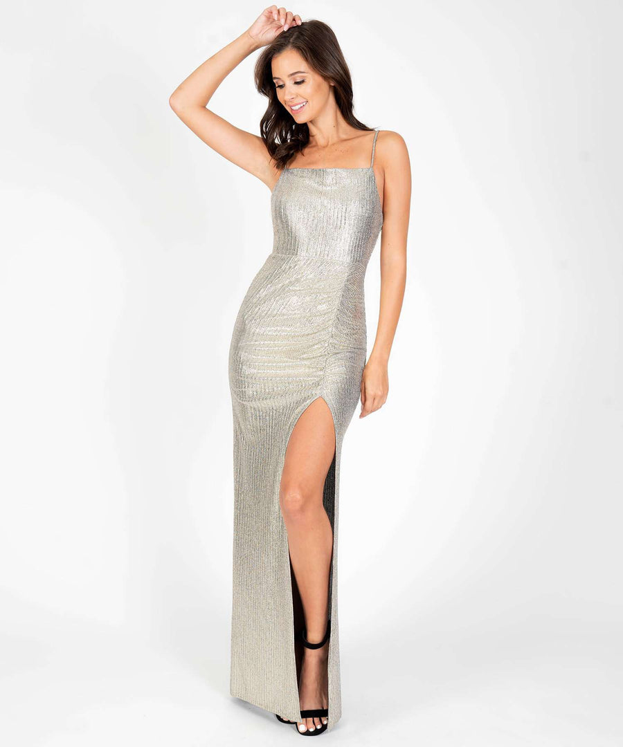 Glow The Extra Mile Maxi Dress-Formal Dress-Speechless.com